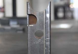 不锈钢方管切割